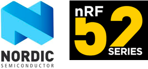 Nordic Semiconductor logo, nRF 52 Series