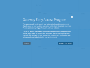 gateway early access program